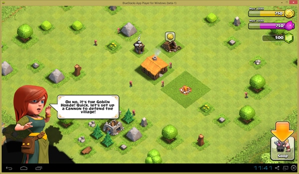 Beginning Clash of Clans